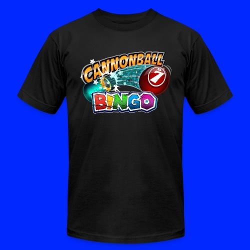 Vintage Cannonball Bingo Logo - Unisex Jersey T-Shirt by Bella + Canvas