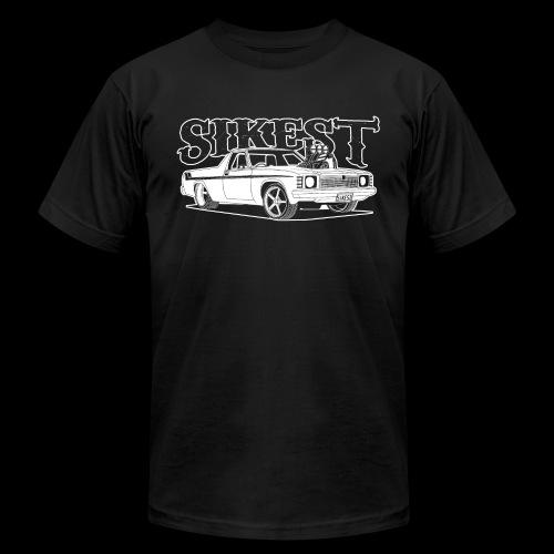 SIKEST - HJ UTE BLOWN BIG BLOCK DESIGN - Unisex Jersey T-Shirt by Bella + Canvas