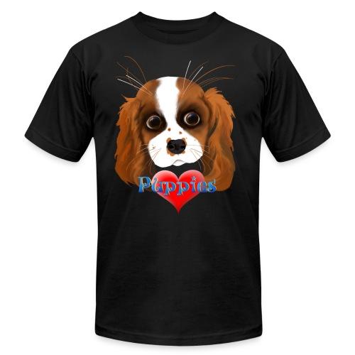 Puppy Love - Unisex Jersey T-Shirt by Bella + Canvas