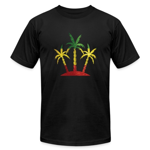 Palm Tree Reggae - Unisex Jersey T-Shirt by Bella + Canvas
