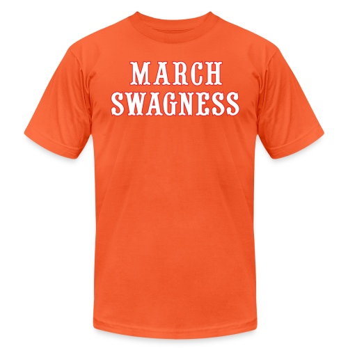 march swagness blwh - Unisex Jersey T-Shirt by Bella + Canvas