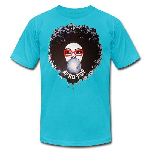 Afro pop_ - Unisex Jersey T-Shirt by Bella + Canvas