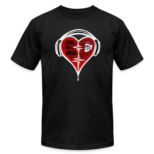 Axelofabyss Music in your heart - Men's Jersey T-Shirt