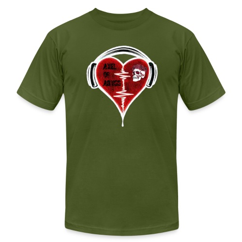 Axelofabyss Music in your heart - Unisex Jersey T-Shirt by Bella + Canvas