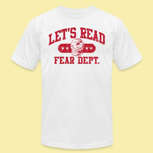 Fear Dept - Athletic Red - Inverted - Men's Jersey T-Shirt