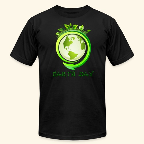 Happy Earth day - 2 - Unisex Jersey T-Shirt by Bella + Canvas