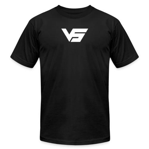 White First Vast Logo - Men's  Jersey T-Shirt