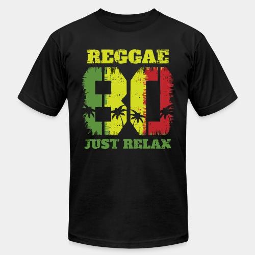 reggae music relax - Unisex Jersey T-Shirt by Bella + Canvas