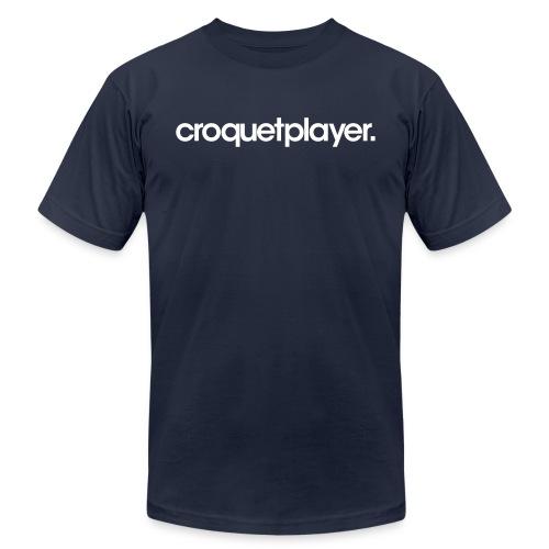 croquetplayer. - Unisex Jersey T-Shirt by Bella + Canvas