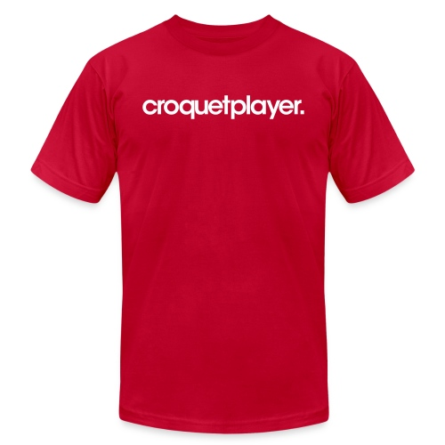 croquetplayer. - Unisex Jersey T-Shirt by Bella + Canvas