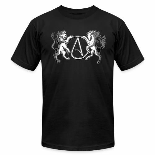 AR Manila Atheist Logo - Unisex Jersey T-Shirt by Bella + Canvas