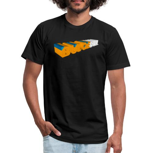 bulgebull_logo_3d - Unisex Jersey T-Shirt by Bella + Canvas