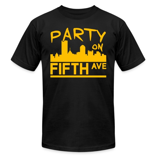 Party on Fifth Ave - Unisex Jersey T-Shirt by Bella + Canvas