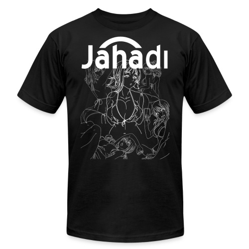HADIBITCHESWHITE - Men's  Jersey T-Shirt