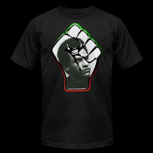 Huey Newton RBG Fist - Men's  Jersey T-Shirt
