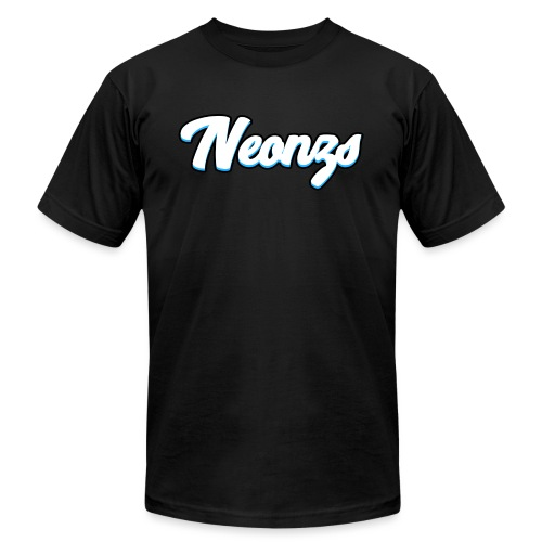Neonzs Design Blue png - Unisex Jersey T-Shirt by Bella + Canvas