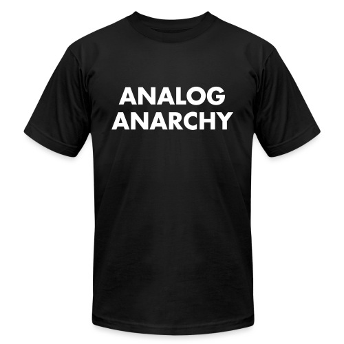 ANALOG_ANARCHY - Unisex Jersey T-Shirt by Bella + Canvas