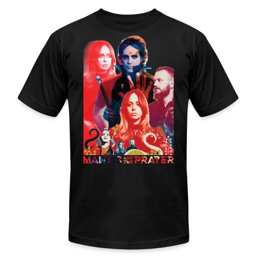 Mantis and the Prayer- Magick Image - Unisex Jersey T-Shirt by Bella + Canvas