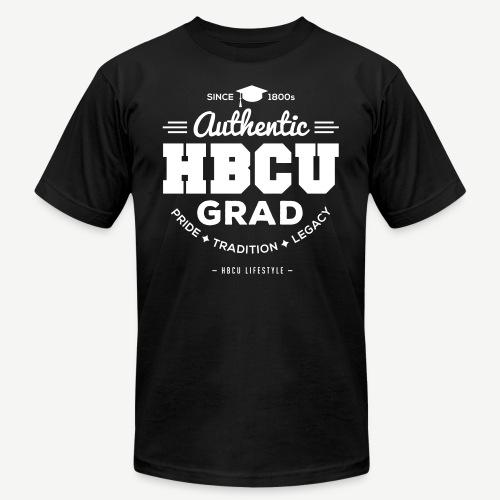 Authentic HBCU Grad - Unisex Jersey T-Shirt by Bella + Canvas