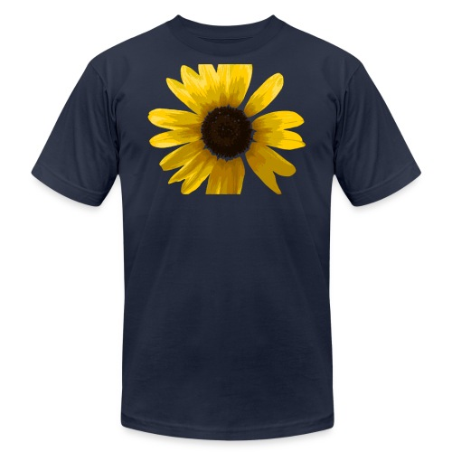 sunflower - Unisex Jersey T-Shirt by Bella + Canvas