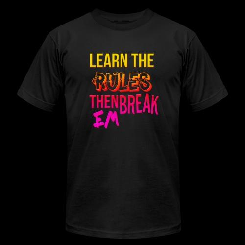 Learn em and break em - Men's  Jersey T-Shirt