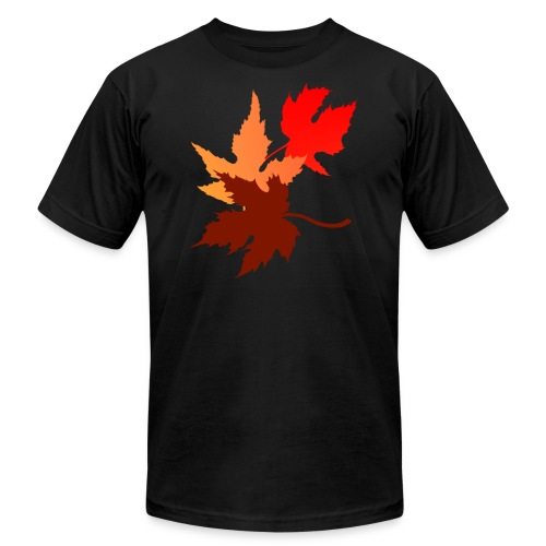 Three Leaves - Unisex Jersey T-Shirt by Bella + Canvas
