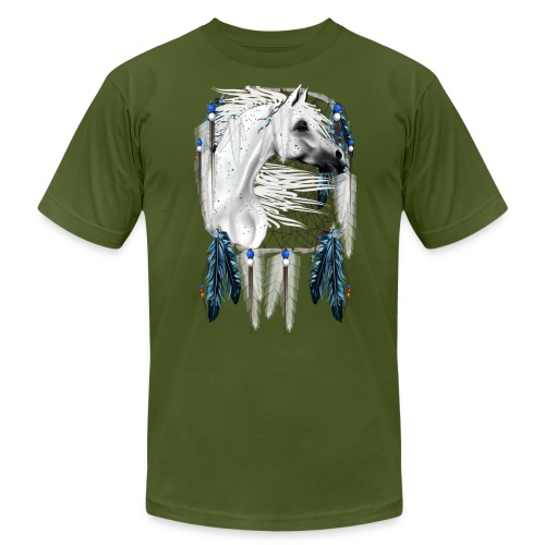 Leopard Appy Dream Catcher - Unisex Jersey T-Shirt by Bella + Canvas