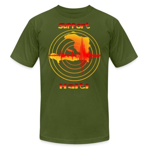 Support Haiti - Unisex Jersey T-Shirt by Bella + Canvas
