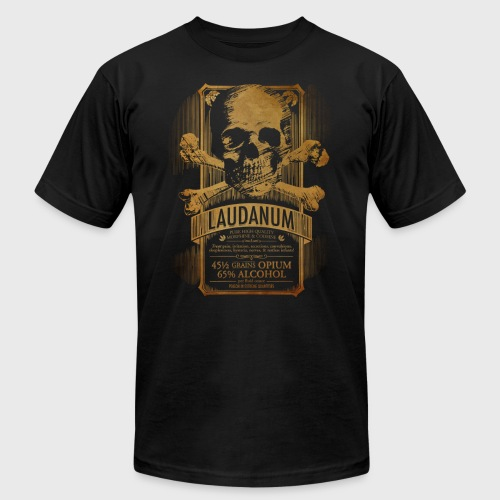 Laudanum Goth Steampunk Medical Doctor - Men's Jersey T-Shirt