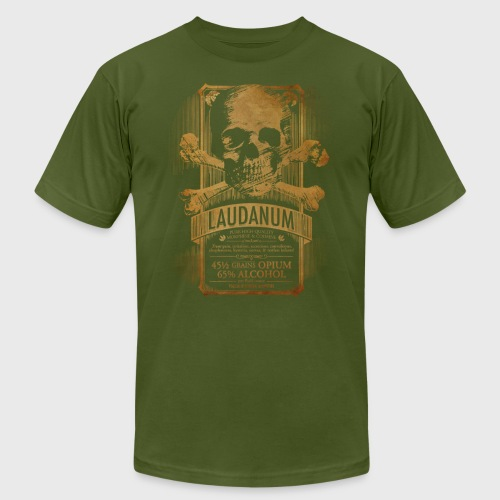 Laudanum Goth Steampunk Medical Doctor - Men's Jersey T-Shirt