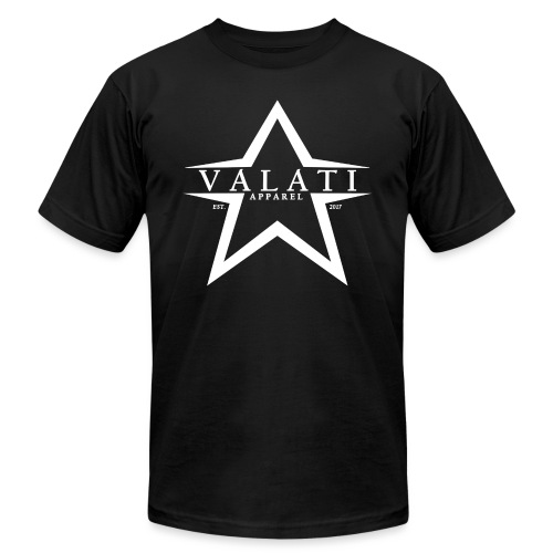 V-Star White - Unisex Jersey T-Shirt by Bella + Canvas