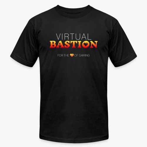 Virtual Bastion: For the Love of Gaming - Unisex Jersey T-Shirt by Bella + Canvas