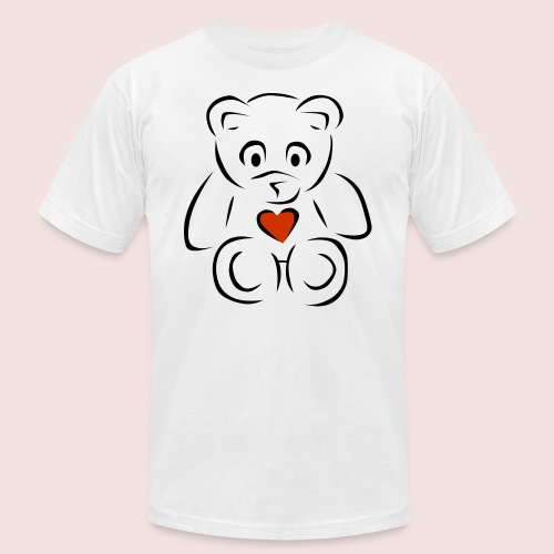 Sweethear - Unisex Jersey T-Shirt by Bella + Canvas