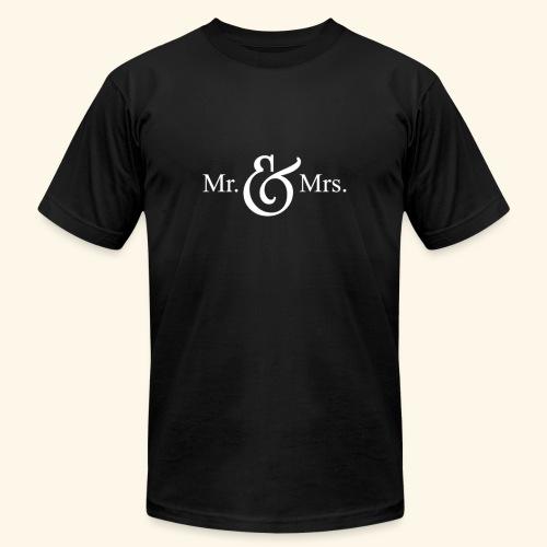 MR.& MRS . TEE SHIRT - Men's Jersey T-Shirt