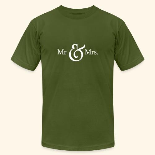 MR.& MRS . TEE SHIRT - Unisex Jersey T-Shirt by Bella + Canvas