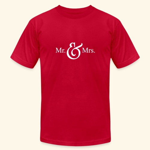 MR.& MRS . TEE SHIRT - Men's Jersey T-Shirt