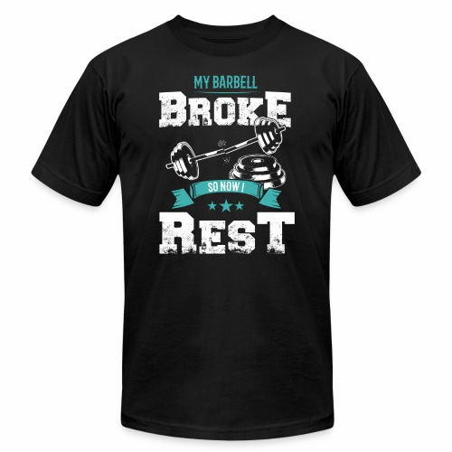 Workout Resting Time - Unisex Jersey T-Shirt by Bella + Canvas