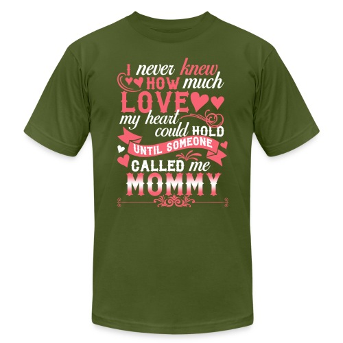 I Never Knew How Much Love My Heart Could Hold - Men's  Jersey T-Shirt