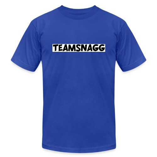 TeamSnagg Logo - Unisex Jersey T-Shirt by Bella + Canvas