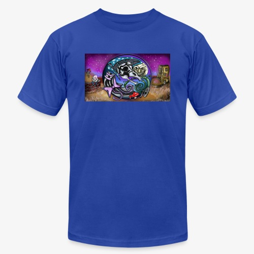 Mother CreepyPasta Land - Men's Jersey T-Shirt