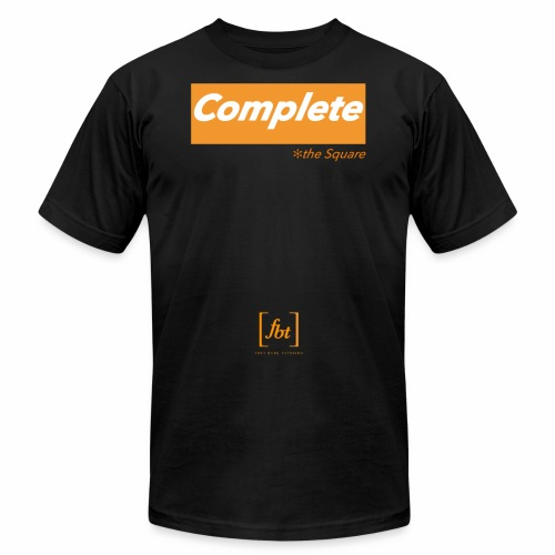 Complete the Square [fbt] - Unisex Jersey T-Shirt by Bella + Canvas