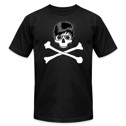 yss emoskull - Unisex Jersey T-Shirt by Bella + Canvas
