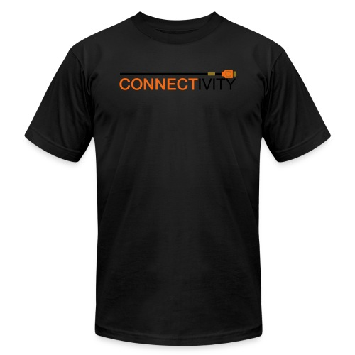 connectivity logo - Unisex Jersey T-Shirt by Bella + Canvas
