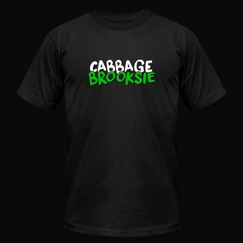 cabbagebrooksie logo v2 - Men's  Jersey T-Shirt