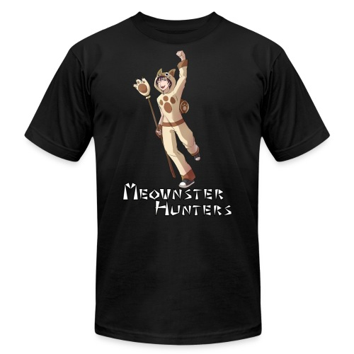 Meownster Hunters - Unisex Jersey T-Shirt by Bella + Canvas