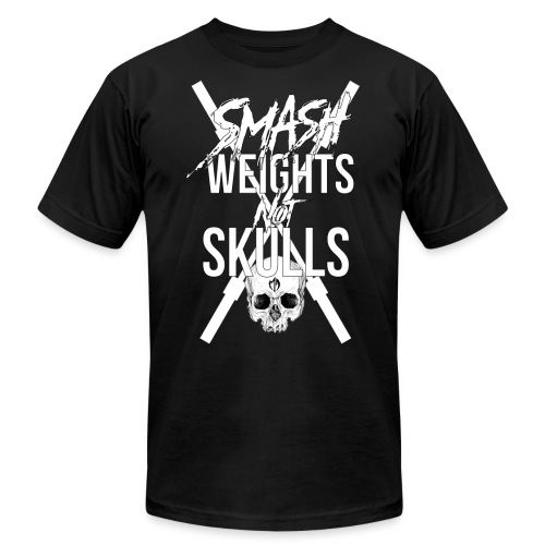 SKULLSMASH F png - Unisex Jersey T-Shirt by Bella + Canvas
