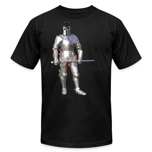 Plate Armor Bring it men's standard T - Unisex Jersey T-Shirt by Bella + Canvas