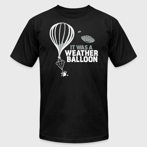 Weather Balloon UFO - Unisex Jersey T-Shirt by Bella + Canvas