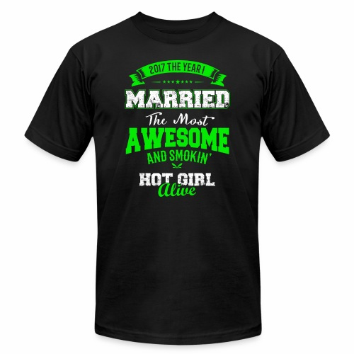 Married Husband - Unisex Jersey T-Shirt by Bella + Canvas