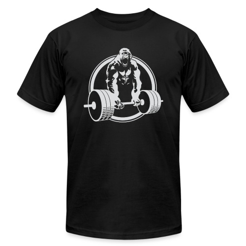 Gorilla Lifting Gym Fit - Unisex Jersey T-Shirt by Bella + Canvas